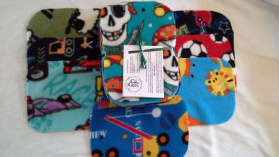 Fleece Wipes pack 20 Boy Prints
